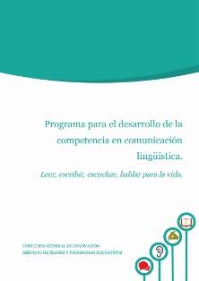 Programa para el desarrollo de la competencia en comunicación lingüística