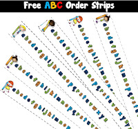 Free ABC Order Strips