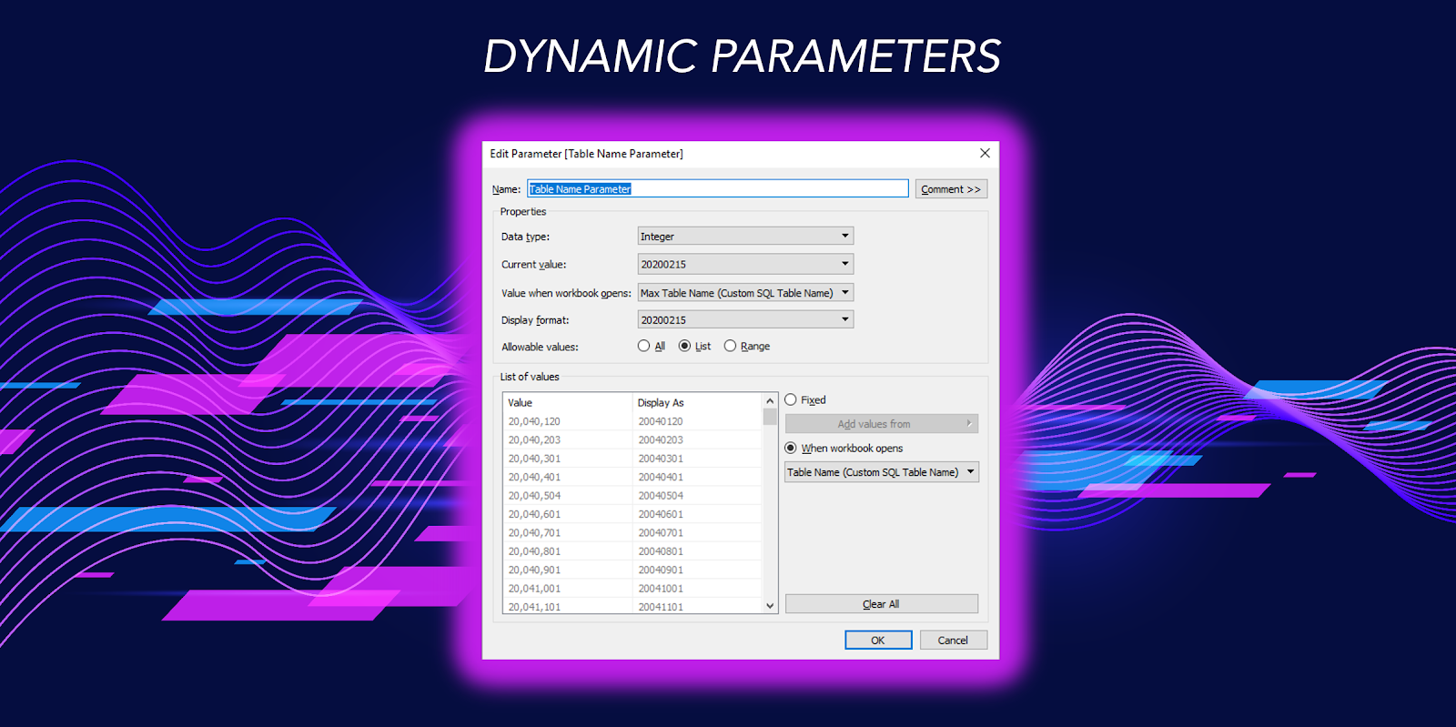 The Key to Dynamic Parameters & Some Good Use Cases