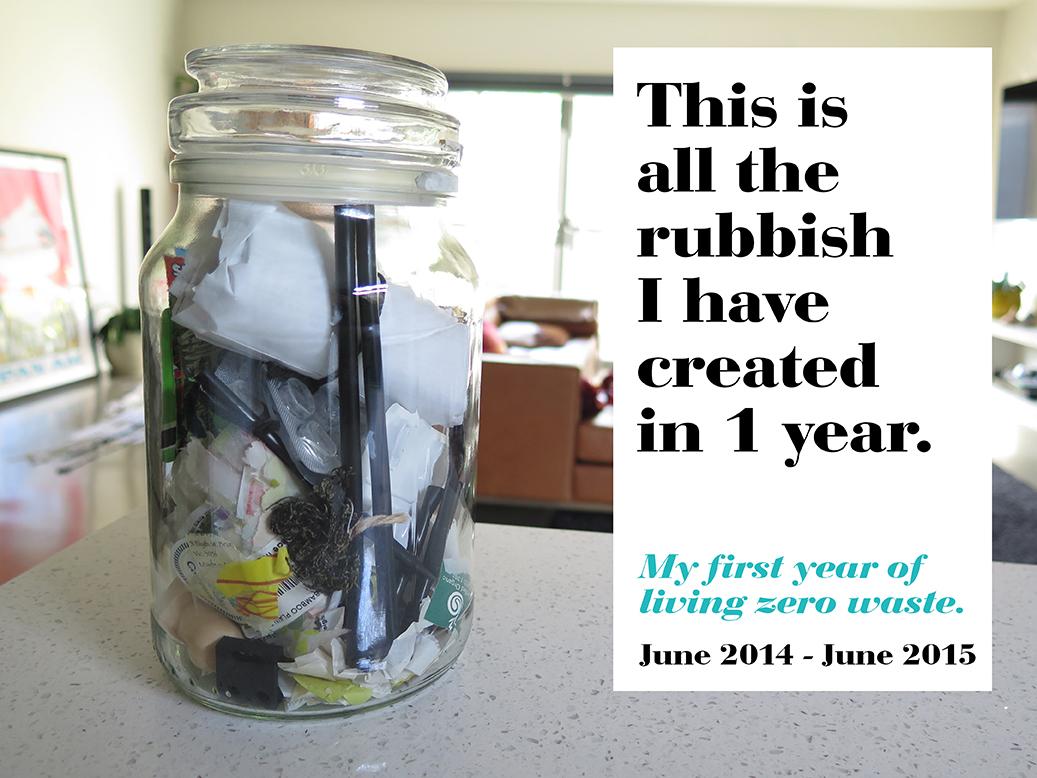 My First Year Living Zero Waste Aka See How Much Trash I