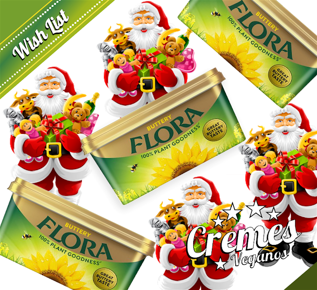 BIOVEGAN PORTUGAL ® WISH LIST - FLORA VEGAN SABOR A MANTEIGA