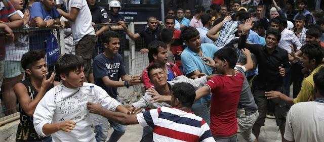 Οι «πρόσφυγες» λεηλατούν τη Λέσβο: Μαχαιρώνουν - Κλέβουν και ληστεύουν