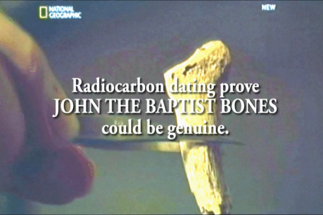 Radiocarbon dating prove bones found could be those of John the Baptist.