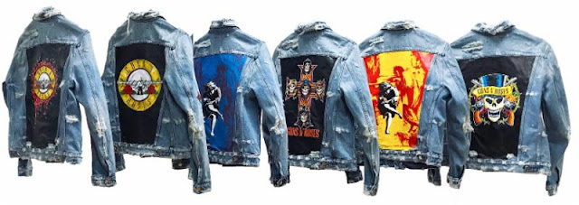 Guns N' Roses Denim Jackets