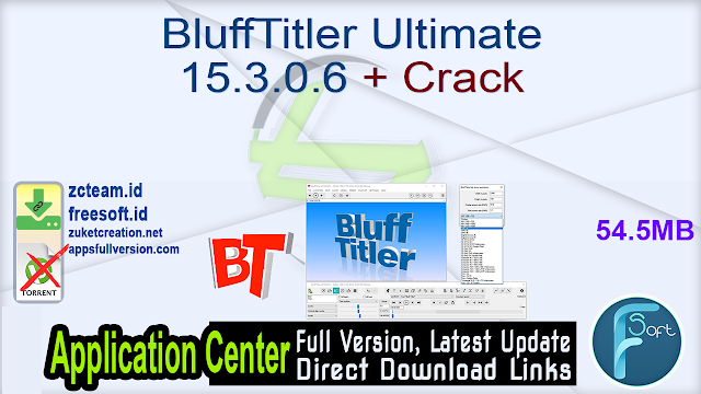 BluffTitler Ultimate 15.3.0.6 + Crack_ ZcTeam.id