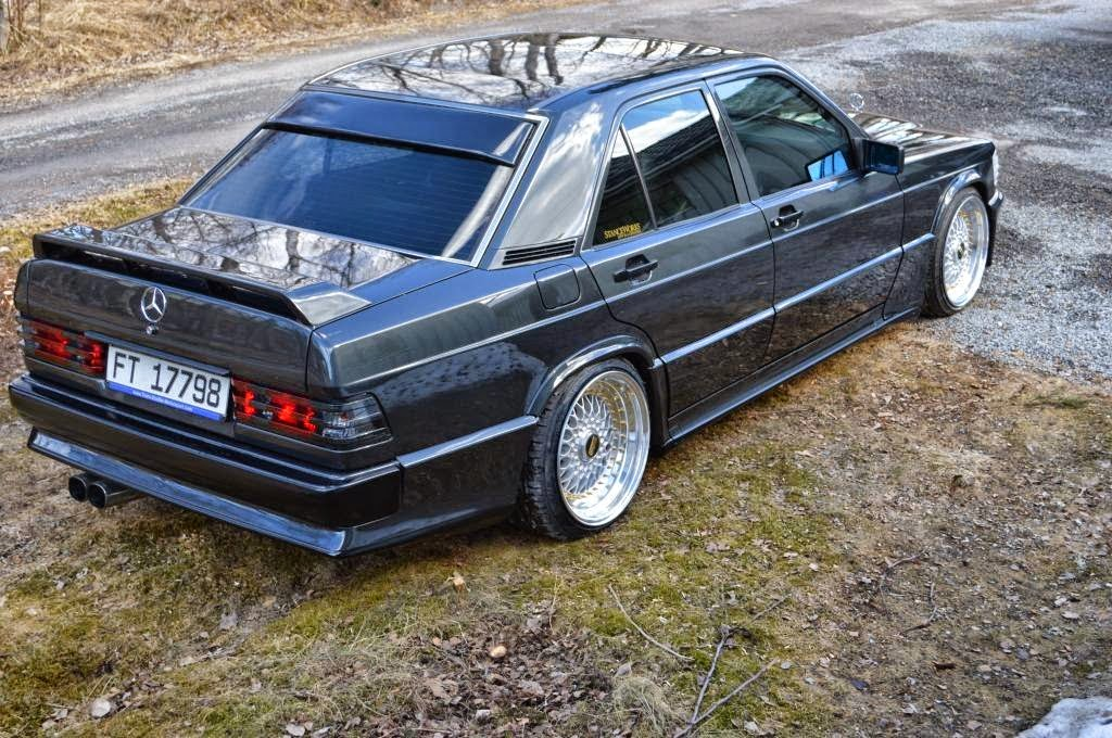mercedes benz 190e w201 on bbs wheels benztuning. Black Bedroom Furniture Sets. Home Design Ideas