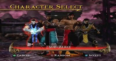 Download Game Mortal Kombat PS2