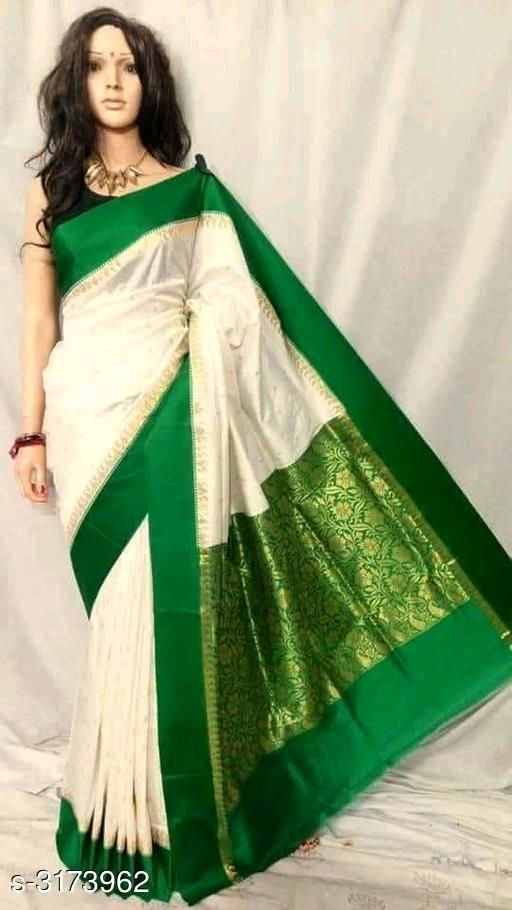 Siya Trendy Banarasi Kanjivaram Silk  Women's Sarees