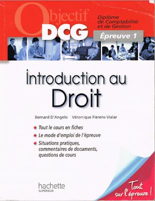 Télécharger Livre Gratuit DCG 1 Introduction au Droit pdf