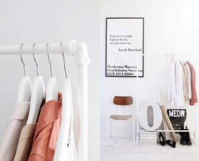 Gantungan baju dari pipa PVC (paralon)