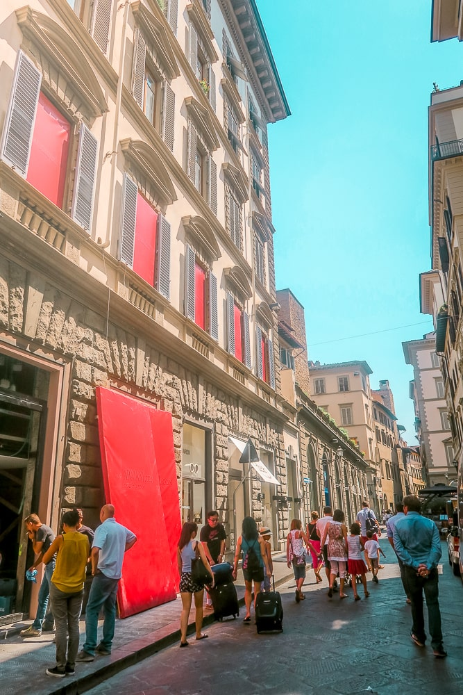 Florence Italy Streets