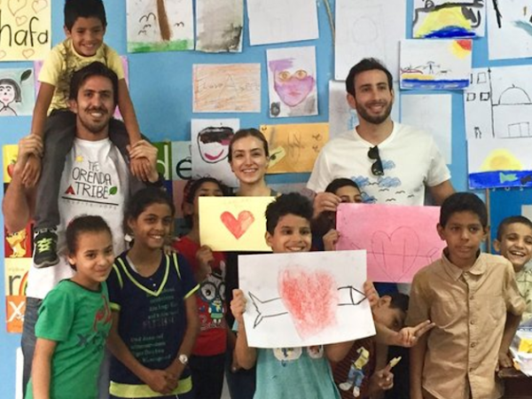 ORENDA TRIBE // Art therapy for children in the Middle East