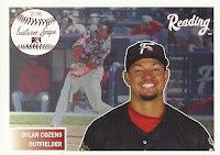 2016 Choice Reading Fightin Phils Top Prospects #2 Dylan Cozens