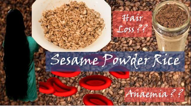 Sesame Seed Rice | Ellu Podi Sadham