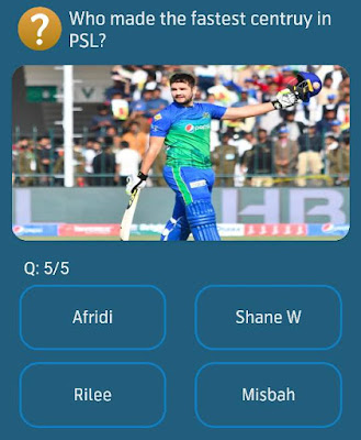 Who made the fastest centruy in PSL?