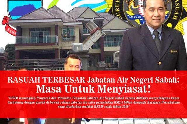 Dua Pegawai Kerajaan Sabah Yang Dituduh Rasuah Masih Bertugas