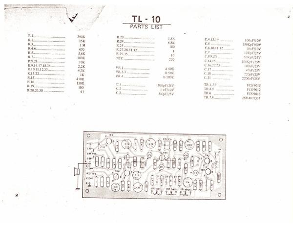 skema amplifer 8 watt  10 watt  15 watt  20 watt