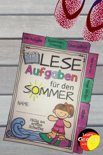 Ein tolles Heft mit verschiedenen Aufgaben rund um das Lesen von Kinderbüchern. Geeignet für die Sommerferien, damit Kinder weiter motiviert sind, zu lesen.