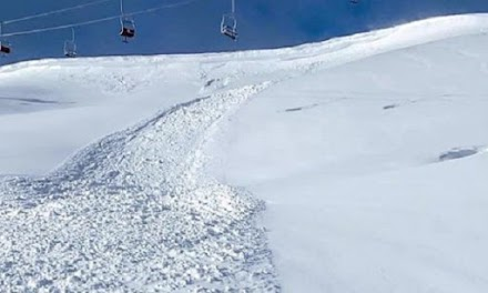 Χιονοστιβάδα στο χιονοδρομικό του Ανηλίου