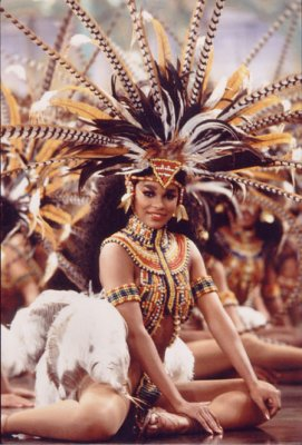 African tribal wedding celebration dance in Zamunda from the epic Coming To America