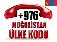 +976 Moğolistan ülke telefon kodu