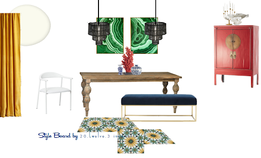 love it, live it: item inspired french mod dining room
