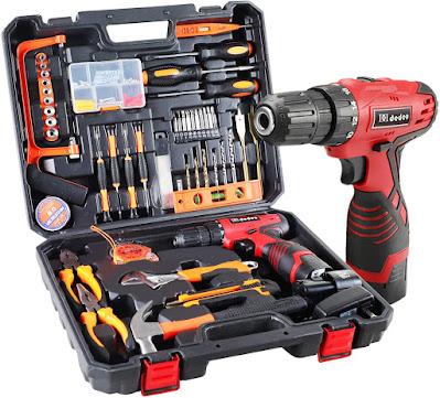 60Pcs Household Power Tools