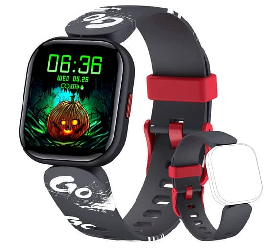 KeBuLe Waterproof Kids Smart Watch with Heart Rate Monitor