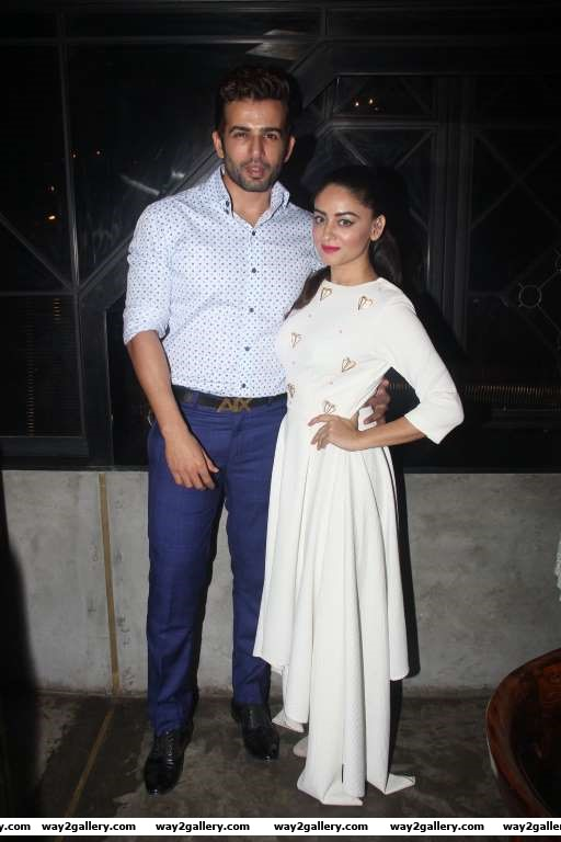 Mahhi Vij and Jay Bhanushali attended a fashion preview of Papa Dont Preach by Shubika in Mumbai