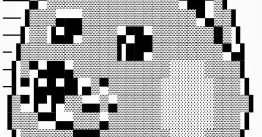 Doge Meme Face Text Art For Facebook | Cool ASCII Text Art 4 U