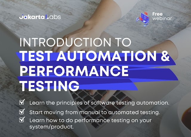 Webinar: Introduction to Test Automation & Performance Testing
