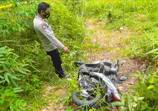 Kerangka Warga Langsa dan Honda Beat Ditemukan di Kebun Karet