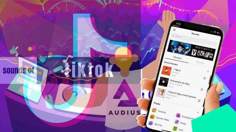 Fitur TikTok Sounds hasil Kerjasama tiktok dengan Blockchain Audius
