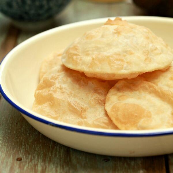 Juadah Petang Hari: Roti Puri India