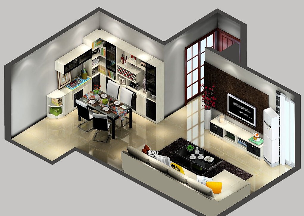 living-and-dining-room-combination-living-and-dining-room-furniture-layout-b40ab13e53e4d18d 35 Sky View 4D American House Plan Styles Interior