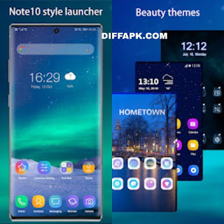 Cool Note10 Launcher for Galaxy Note Apk v6.9 (Prime)