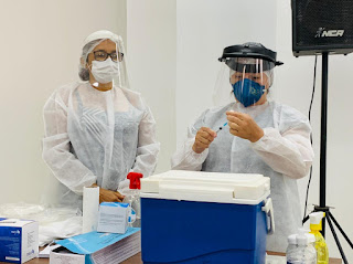 COVID-19: Campo Maior já vacinou 144 profissionais de saúde