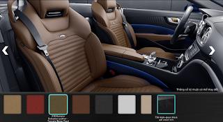 Nội thất Mercedes SL 400 2019 màu Vàng Tuscany Pearl X18