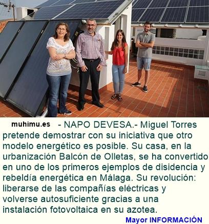 UNA FAMILIA ESPAÑOLA SE LIBERA DE LA RED COMERCIAL Y GENERA SU PROPIA ENERGÍA