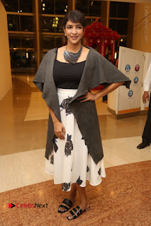 Actress Lakshmi Manchu Pos at Asian Para Badminton Championship Winners Felicitation Ceremony  0075.JPG