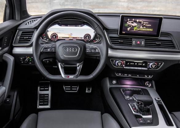 2017 Audi Q5 Engine Interior