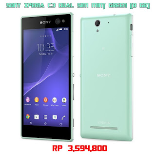 Sony Xperia C3 Mint Green Dual Sim 8 GB