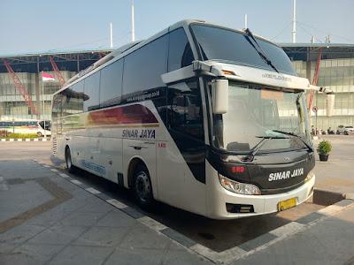 Foto Bus Sinar Jaya 5RD