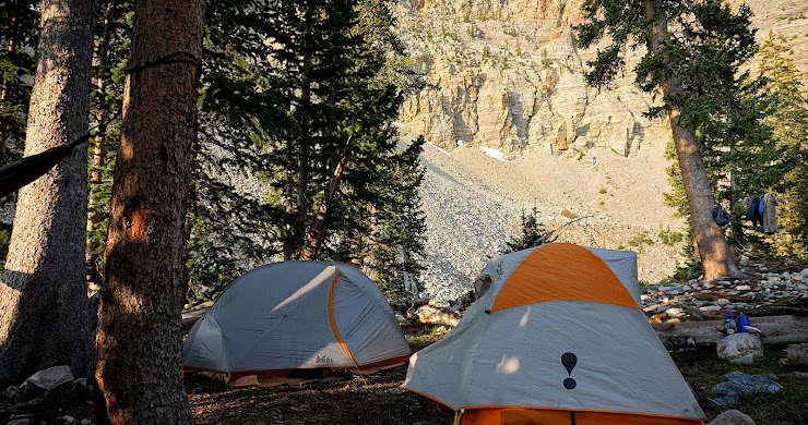 Backpacking Great Basin National Park: Day 2