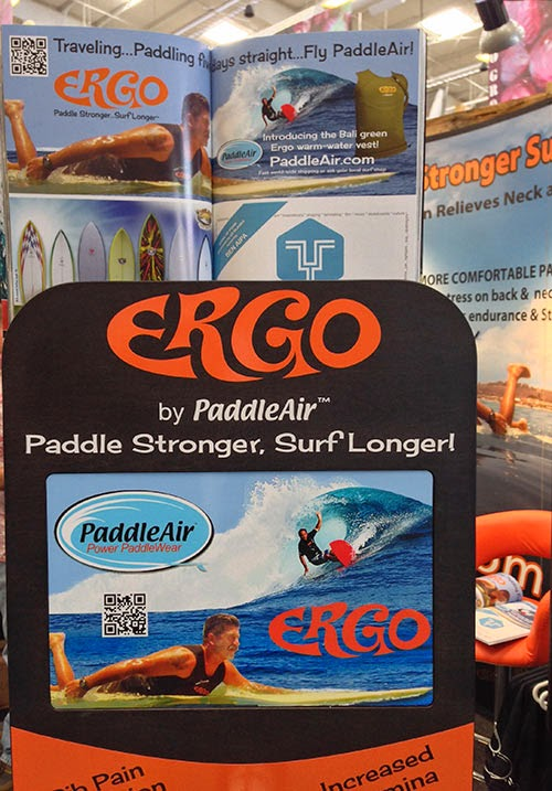 Close-up of Paddle Ergo Display