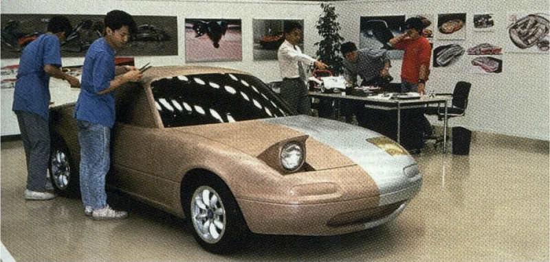 Mazda MX-5, Miata, Eunos Roadster, koncept, prototyp, 日本車, スポーツカー, オープンカー, マツダ