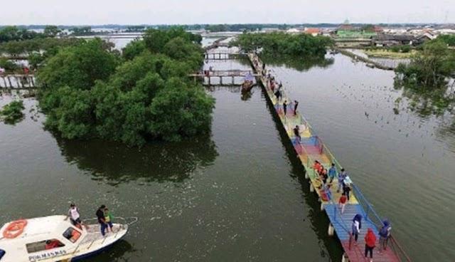 Jembatan Cinta Desa Segarajaya - Tarumajaya ,Bekasi