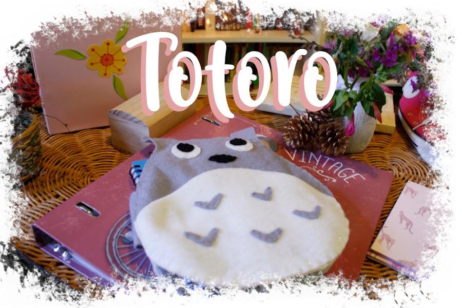 Estuche Totoro de fieltro