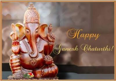 Happy Ganesh chaturthi imag