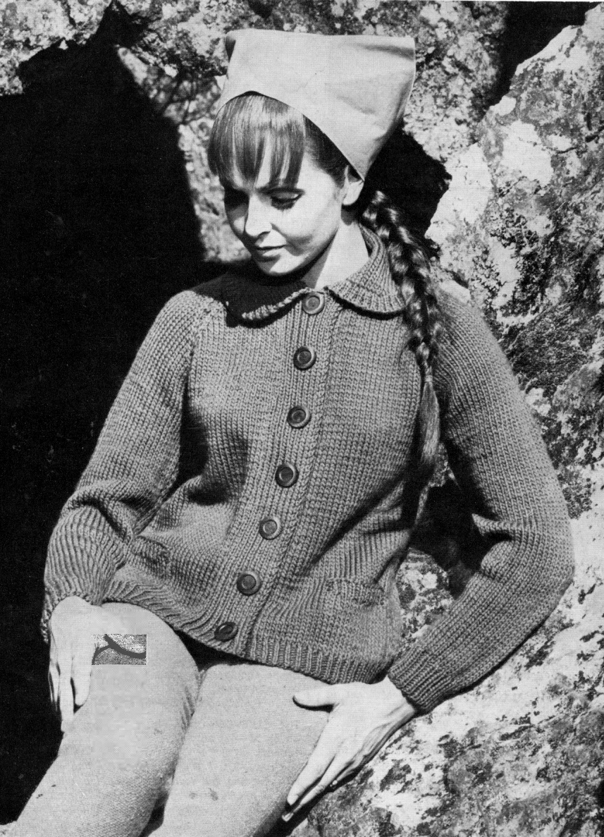 Patons Childrens Knitting Patterns Free : The Vintage Pattern Files: Patons Book No.752 - Knits for Two